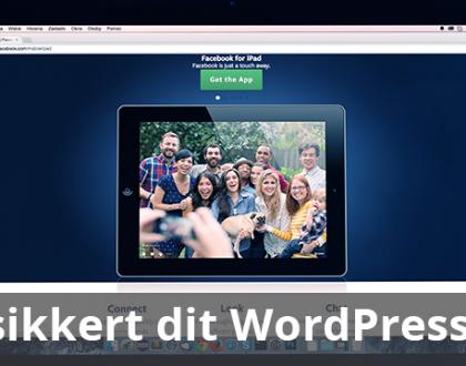 Skift sikkert dit WordPress tema